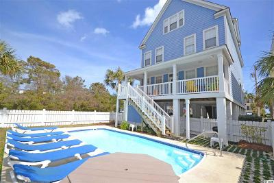 Surfside Beach Single Family Home For Sale: 614-B North Ocean Blvd.