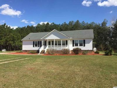 Aynor Single Family Home For Sale: 4821 Deer Creek Rd