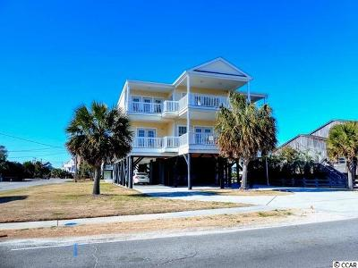 Garden City Beach Single Family Home For Sale: 1808 S Waccamaw Drive