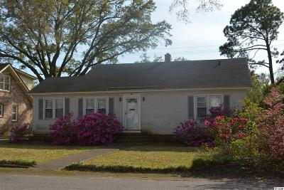 Georgetown Single Family Home Active-Pending Sale - Cash Ter: 1025 Palmetto Street