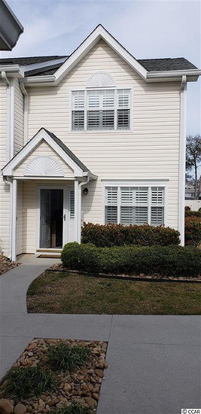 North Myrtle Beach SC Condo/Townhouse Sold: $162,000