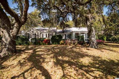Pawleys Island Single Family Home For Sale: 161 Tanglewood Drive