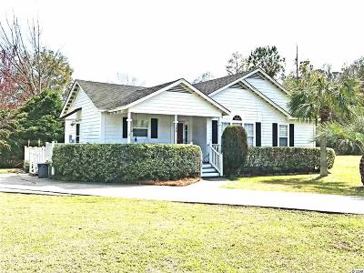 Pawleys Island Single Family Home Active-Pend. Cntgt. On Financi: 176 Safe Harbor Ave