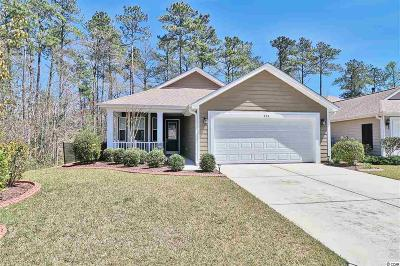 Murrells Inlet Single Family Home Active-Pend. Cntgt. On Financi: 724 Bay Hill Court