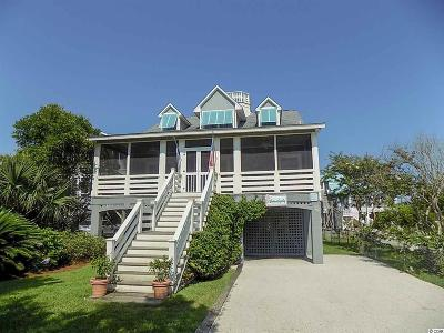 Pawleys Island Single Family Home For Sale: 123 Atlantic Avenue