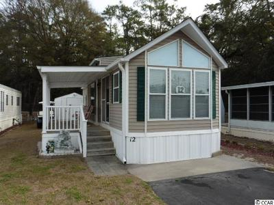 North Myrtle Beach Single Family Home For Sale: 5400 Little River Neck Rd