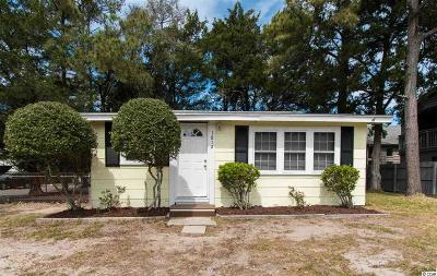 North Myrtle Beach Single Family Home For Sale: 1812 Hillside Drive