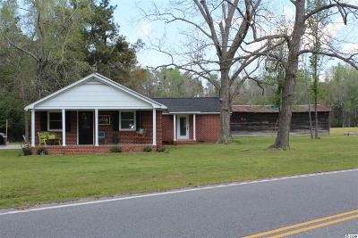 Galivants Ferry Single Family Home For Sale: 2557 Bud Graham Road