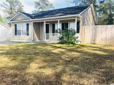 Conway SC Single Family Home Active-Pend. Cntgt. On Financi: $110,000