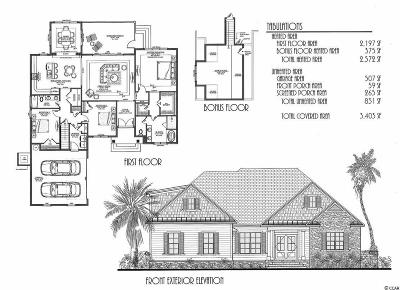 Myrtle Beach Single Family Home For Sale: 2801 Sourgrass