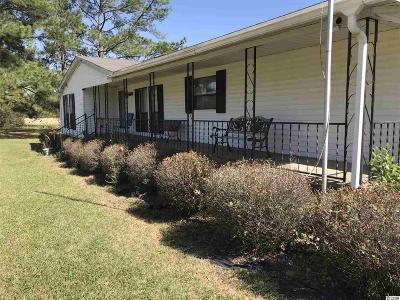 Loris Single Family Home For Sale: 151 Round Swamp Road