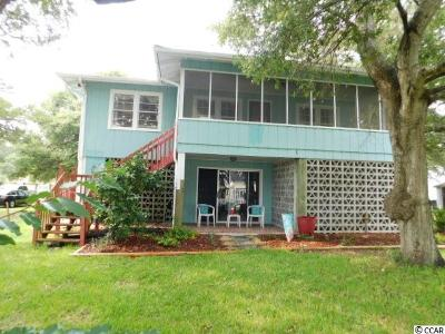 North Myrtle Beach Single Family Home Active-Pend. Cntgt. On Financi: 4512 Surf Street