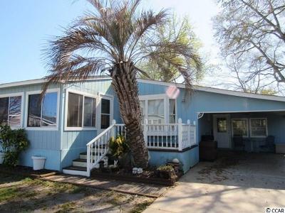 Surfside Beach Single Family Home For Sale: 371 East Lake Drive