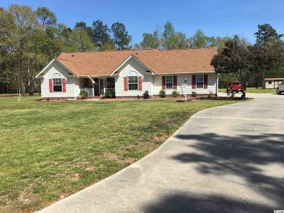 Conway SC Single Family Home Active-Pend. Cntgt. On Financi: $215,000