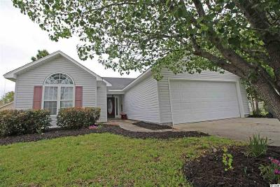 Murrells Inlet Single Family Home Active-Pend. Cntgt. On Financi: 9645 Bradford Lane