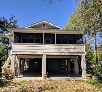 Murrells Inlet Single Family Home For Sale: 3714 Jordan Landing Rd.