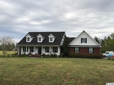 Conway Single Family Home For Sale: 9198 Pee Dee Hwy