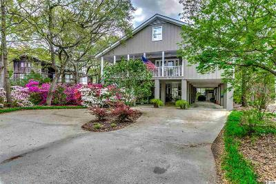 Pawleys Island Single Family Home For Sale: 500 Lakeshore