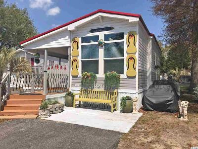 North Myrtle Beach Single Family Home For Sale: 5400 Little River Neck Road, Lot 295