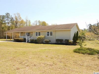Loris Single Family Home For Sale: 2915 Hwy 701 S