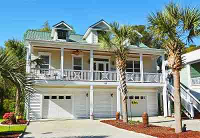 Pawleys Island Single Family Home For Sale: 65 Harbourreef Dr.