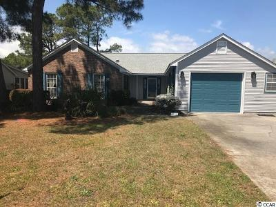Murrells Inlet Single Family Home Active-Pending Sale - Cash Ter: 1105 Fox Sparrow Dr.