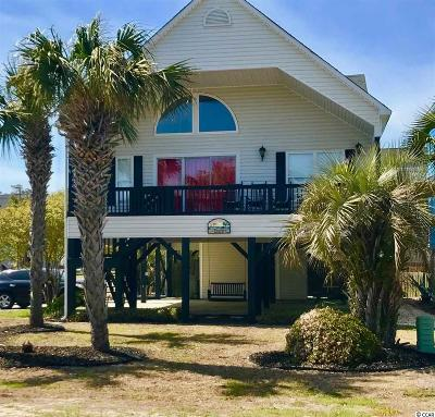 Surfside Beach Single Family Home For Sale: 716a S Ocean Blvd