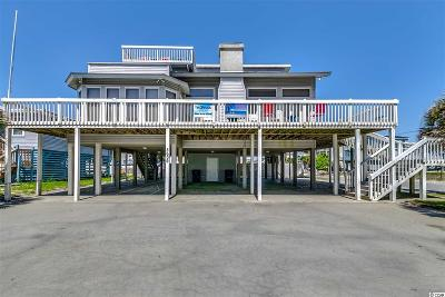 North Myrtle Beach Single Family Home For Sale: 5609 N Ocean Blvd