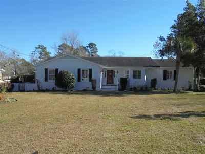North Myrtle Beach Single Family Home For Sale: 1306 Elizabeth Street