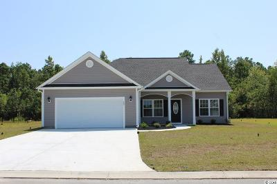 Conway SC Single Family Home Active-Pend. Cntgt. On Financi: $169,870