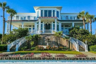 North Myrtle Beach Single Family Home For Sale: 901 N Ocean Blvd
