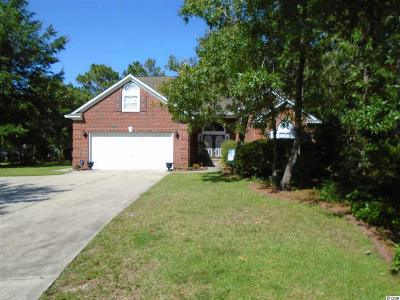 Pawleys Island Single Family Home For Sale: 174 Barony Place