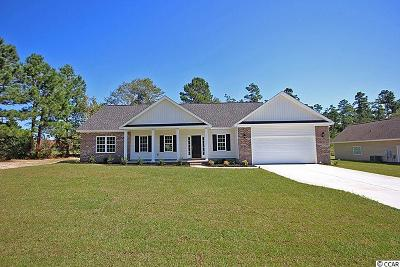 Conway Single Family Home For Sale: 5447 Cates Bay Hwy