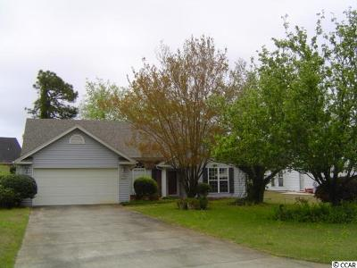 Surfside Beach Single Family Home For Sale: 1472 Avalon Drive