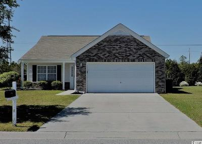 North Myrtle Beach Single Family Home For Sale: 5704 Club Course Dr