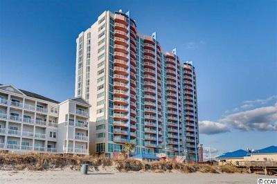 North Myrtle Beach Condo/Townhouse For Sale: 3500 N Ocean Blvd #1604