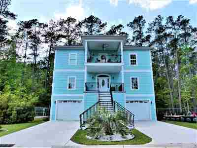 Myrtle Beach Single Family Home For Sale: 136 Harbor Oaks Drive