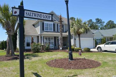 Murrells Inlet Single Family Home For Sale: 23 Saltwind Loop