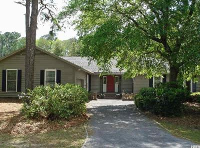 Pawleys Island Single Family Home For Sale: 391 Oleander Drive