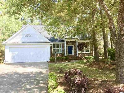 Murrells Inlet Single Family Home For Sale: 9504 Indigo Creek Blvd.