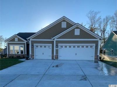 North Myrtle Beach Single Family Home For Sale: 1709 North Cove Court