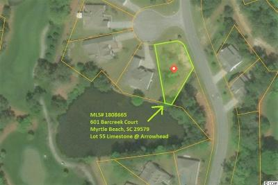 Myrtle Beach Residential Lots & Land For Sale: 601 Barcreek Court