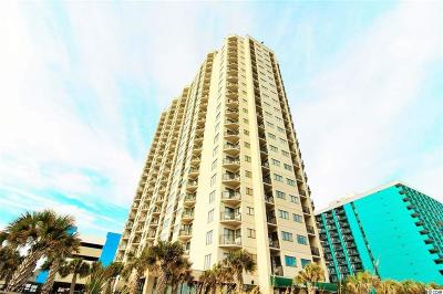 Myrtle Beach Condo/Townhouse For Sale: 1605 S Ocean Blvd #2309