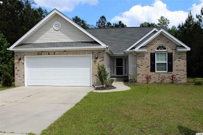Horry County Single Family Home Active-Pend. Cntgt. On Financi: 168 Quail Hollow Road