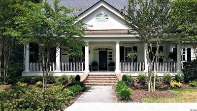 Pawleys Island Single Family Home For Sale: 24 Aveune Of Live Oaks