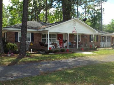 Conway SC Single Family Home For Sale: $126,900