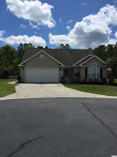 Myrtle Beach SC Single Family Home For Sale: $214,900