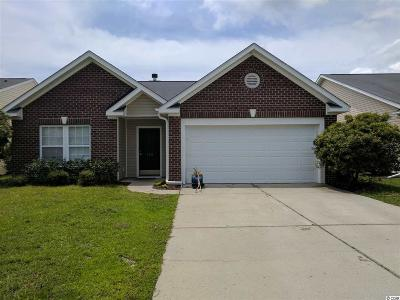 Myrtle Beach SC Single Family Home For Sale: $187,000