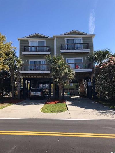 Garden City Beach Single Family Home For Sale: 124-B Vista Drive