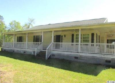 Conway SC Single Family Home For Sale: $169,500